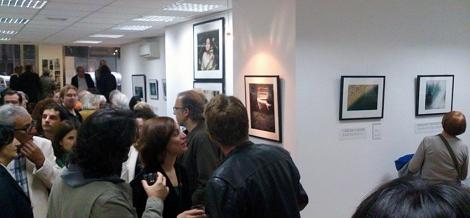 """Inauguración de la exposición colectiva """"71%"""" en la galería il mondo (Barcelona)"""