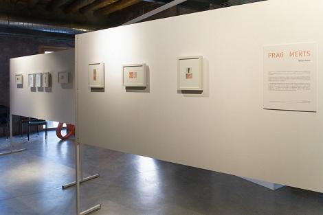 Fotografías del proyecto Fragments expuestas en el festival FineArt Igualada. Foto de Mireia Alises